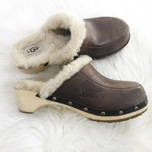 Ugg Australia : Brown Clogs Size 7